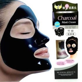 charcoal Bamboo Charcoal Oil Control Anti-Acne Deep Cleansing Blackhead Remover, Peel Off Mask  (130 g)