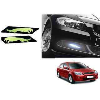 Kunjzone Slim Daytime LED DRL Set of 2 Jaguar-Blue for Ford Ikon