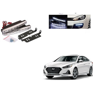 Kunjzone 8 LED Daytime Running Lights for Hyundai Sonata