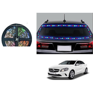 Kunjzone 5 Meters Waterproof Cuttable LED Lights Strip Roll - (RGB)Multicolor For Mercedes Benz A Class