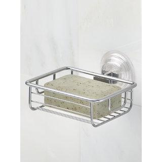 InterDesign Classico Steel Bathroom Soap Dish - Silver
