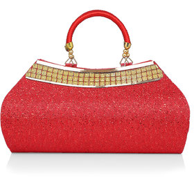 LADY QUEEN party wear hand held bag
