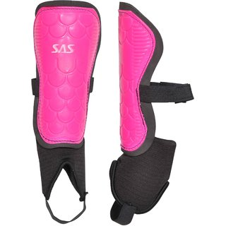 SAS Shin Guard Match lite for All Playing levels - For Unisex Football Shin Guard (Standard) (Pink)