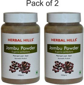 Herbal Hills Jambu Beej powder - 100 gms (Pack of 2)
