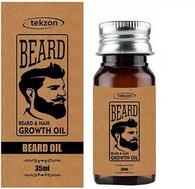 Tekzon Beard Softener Soft, Shine  Growth Oil-35ml