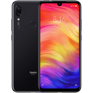 Redmi Note 7 4GB 64GB | 4000 mAh  | 13MP Selfie | Dot Notch Display | Dual Camera - Onyx Black