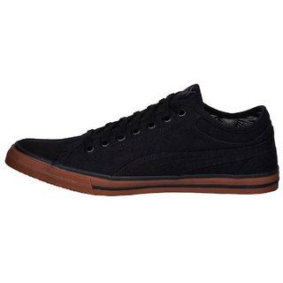 Puma Mens Black Yale Gum Solid IDP Casual Shoes