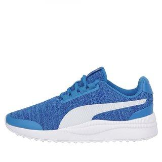 Puma Womens Blue Pacer Next FS Knit Running Shoes