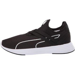 Puma Womens Black Radiate XT Slip-On Running Shoes