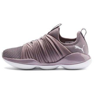 Puma Womens Light Purple Flourish Wns Running Shoes