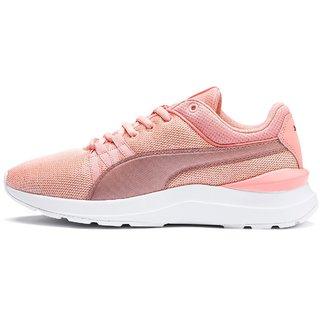 Puma Womens Peach Adela Spark Running Shoes
