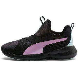Puma Womens Black Rebel X Trailblazer Running Shoes