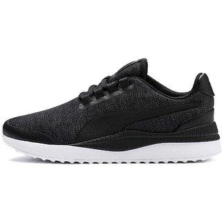 Puma Womens Black Pacer Next FS Knit Running Shoes