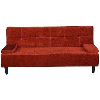 houzzcraft Crystal sofa cum bed