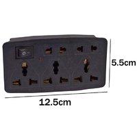 Multi Plug Sockets   3 Pin with 3 International Sockets