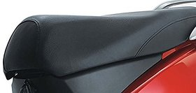 SCORIA Black Scooty/Scooter Seat Cover for Honda Activa 3G/ 4G/ 5G