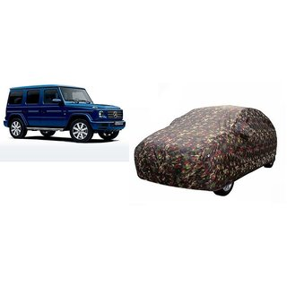 ARMY PRINT WATER PROOF Car body cover with mirror pocket for MERCEDES BENZ G-CLASS