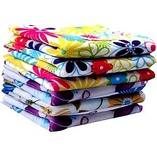Concepts 200 GSM Face Towels Pack of 6 (Assorted)