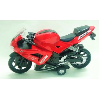 JGG Jain Gift Gallery 112 Diecast Scale Model Bike with Music (Multicolour)
