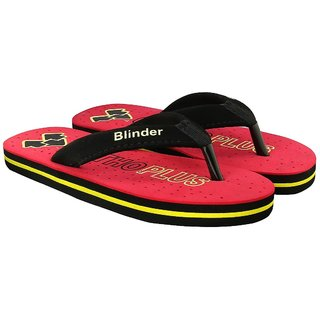 406a978fad61 Buy Blinder Mens Red Health Plus Ortho Comfortable Slipper Online - Get 7%  Off