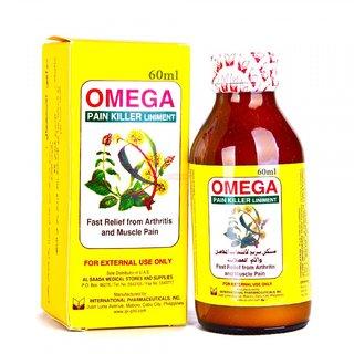 Pain Killer Liniment Oil - 60ml (Pack Of 3)