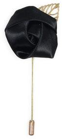 69th Avenue Men's Black Lapel Pin with Stick