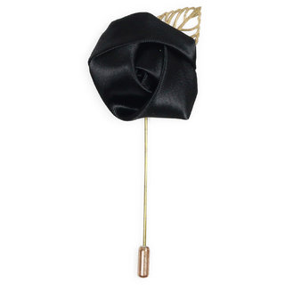 69th Avenue Men's Black Lapel Pin with Stick