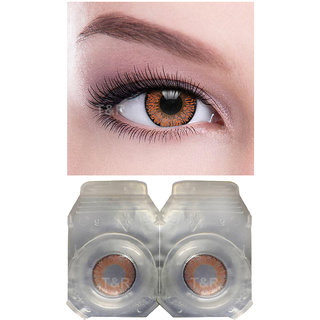 007f5bf7d55 60%off Crystal Eye Honey Colour Monthly(Zero Power) Contact Lens