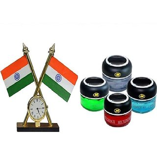Buy Indian Flag With Ashok Stambh Car Dashboard Indian Flag Online