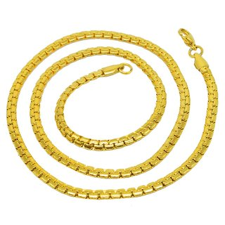 Sullery 316L Stainless Steel Thin Thickness Flat Snake Gold Chain For Men And Women
