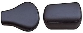 Seat Cover for Bullet Motorcycle Classic 350 (Black)