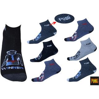 PUBG Socks Pack of 6