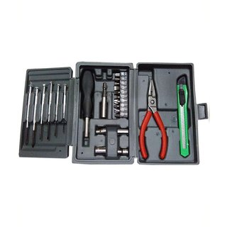 Shopper52 Mini Hobby Tool Kit Metal Stainless Steel Screwdriver Set for Home Office Car Bike Combo Of 25 Pieces