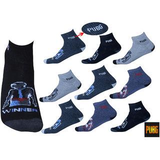 PUBG Socks Pack of 9