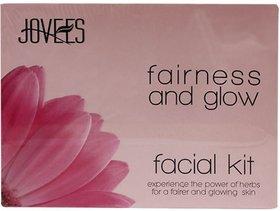 Jovees Skin Fairness and Glow Facial Kit (Set of 5)