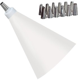 gayatri 12 PCS stainless steel Nozzle Set Cake DecoratIcing tool  Piping Cream Pastry Bags
