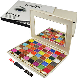 Mars My Fashion My Choice-48 Color Matte Eyeshadow EP05-02 With Free LaPerla Kajal Worth Rs.125/