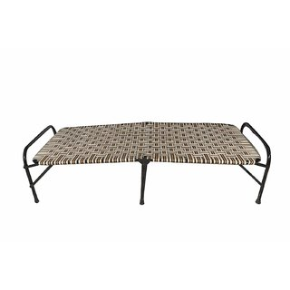 Digikida Single Size Folding Bed Iron Folding Bed for Household Purpose