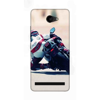 Digimate Printed Designer Soft Silicone TPU Mobile Back Case Cover For 10.Or D2 Design No. 0210