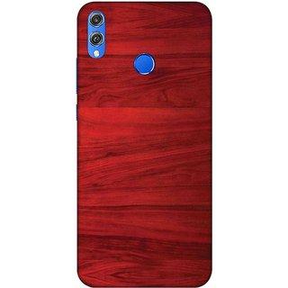 Digimate Printed Designer Hard Plastic Matte Mobile Back Case Cover For  Huawei Honor 8X Design No  0434