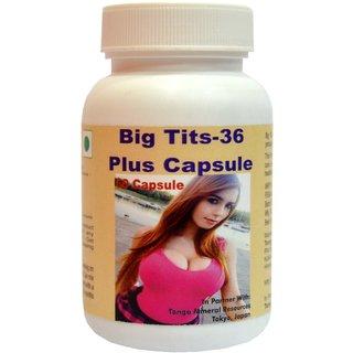 Tonga Herbs Big Tits 36 Plus Capsules - 60 Capsules (Buy Any Supplement Get The Same 60ml Drops Free)