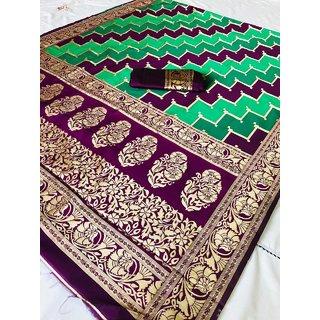 Traditional soft silk saree