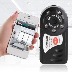 Mini WIFI DVR P2P WiFi IP Camera Indoor Outdoor HD Hidden Spy CCTV Camera -SU