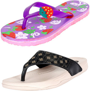 70a2b0385c0c5 Slippers & Flip Flops for Women - Buy Ladies Slippers for Summers ...