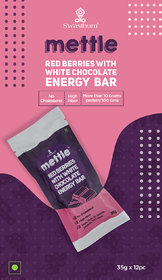 Red Berries with White Chocolate 35 g. Pack of 12
