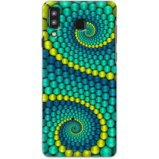Ezellohub back cover for Samsung Galaxy A9 Star - abstract
