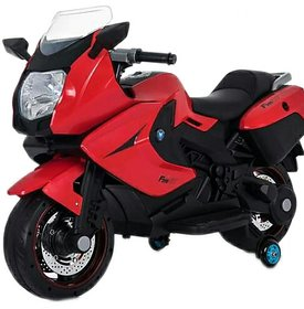 Oh Baby, Baby Battery Operated BMW Model Bike RED Color With Musical Sound For Your Kids