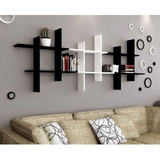 The New Look Living Room Design Long Wall Shelf 18x4x18 Inches