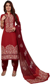 Women Shoppee's Unstiched Dress Material - Cozy Cottons