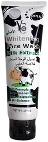 Yc Whitening Face  Wash Milk Extract